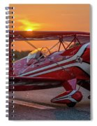 Pitts Sunset Spiral Notebook