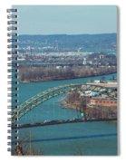 Pittsburg City Skyline Spiral Notebook
