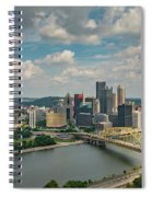 Pittsburg Skyline Spiral Notebook