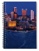 Pittsburgh At Night Spiral Notebook