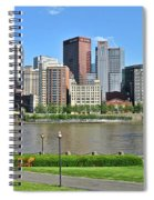 Pittsburgh From Just Outside Pnc Park Spiral Notebook