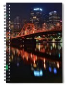 Pittsburgh Lights Spiral Notebook