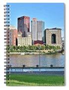 Pittsburgh Pa Panoramic Spiral Notebook