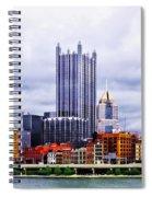 Pittsburgh Pa Skyline Spiral Notebook