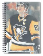 Pittsburgh Penguins Sidney Crosby 3 Spiral Notebook