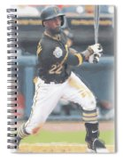 Pittsburgh Pirates Andrew Mccutchen 3 Spiral Notebook
