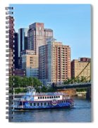 Pittsburgh River Cruise  Spiral Notebook