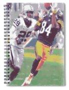 Pittsburgh Steelers Antonio Brown 1 Spiral Notebook