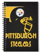 Pittsburgh Steelers Team Vintage Art Spiral Notebook