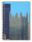 Pittsburghs Big Three Spiral Notebook