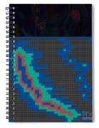 Pixel Painting Spiral Notebook