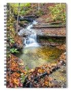 Pixley Falls State Park Lesser Falls Spiral Notebook