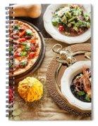 Pizza Spiral Notebook