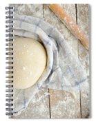 Pizza Dough  Spiral Notebook