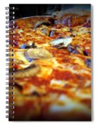 Pizza Pie For The Eye Spiral Notebook