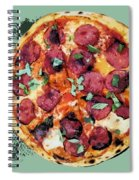 Pizza - The Corleone Special Spiral Notebook
