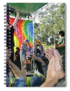 Pk Leads Jefferson Starship Photo Spiral Notebook