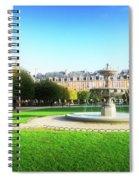 Place De Vosges, Paris Spiral Notebook
