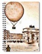 Place Du Carrousel 1878 Spiral Notebook