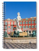 Place Massena Of Nice In France Spiral Notebook