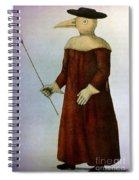 Plague Costume Spiral Notebook