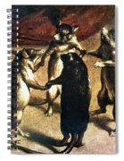 Plague: Dance Of The Rats Spiral Notebook