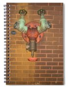 Plain All Alone Pipe Spiral Notebook
