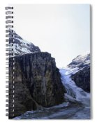 Plain Of Six Glaciers Trail Terminus -- Canada Spiral Notebook