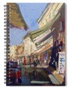 Plaka Athens Greece Spiral Notebook