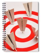 Plane Goal Spiral Notebook