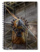 Spirit Of St Louis Propeller Airplane Spiral Notebook