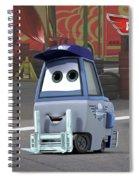 Planes Spiral Notebook