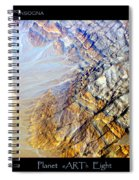 Planet Earth Eight Spiral Notebook