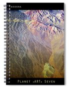 Planet Earth Seven Spiral Notebook