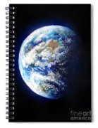 Planet Earth. Space Art Spiral Notebook