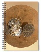Planet Mars Via Phoenix Mars Lander Spiral Notebook