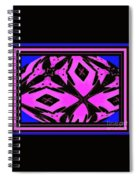 Planet Of The Aliens Abstract Spiral Notebook