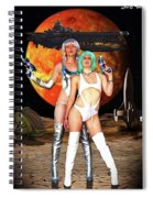 Planet Of The Space Vixens Spiral Notebook