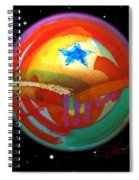 Planet Texas Spiral Notebook