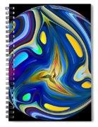 Planet Whorl Spiral Notebook