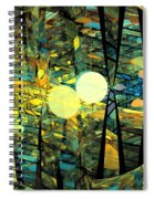 Planetary Ellipses Spiral Notebook