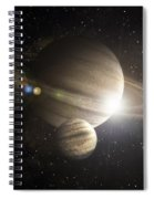 Planetary Ring Spiral Notebook