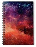 Planetary Soul Violet Spiral Notebook