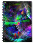 Planets Of Vega Spiral Notebook