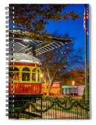 Plano Trolley Car Spiral Notebook