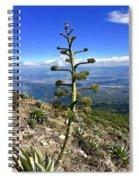 Plant On Volcano Slope Spiral Notebook