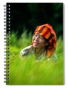 Planting Rice By Hand Spiral Notebook