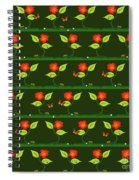 Plants And Flowers Spiral Notebook