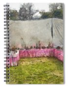 Plants At An Exhibition Spiral Notebook