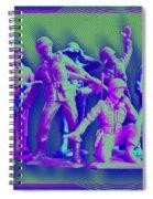 Plastic Army Man Battalion Pop Spiral Notebook